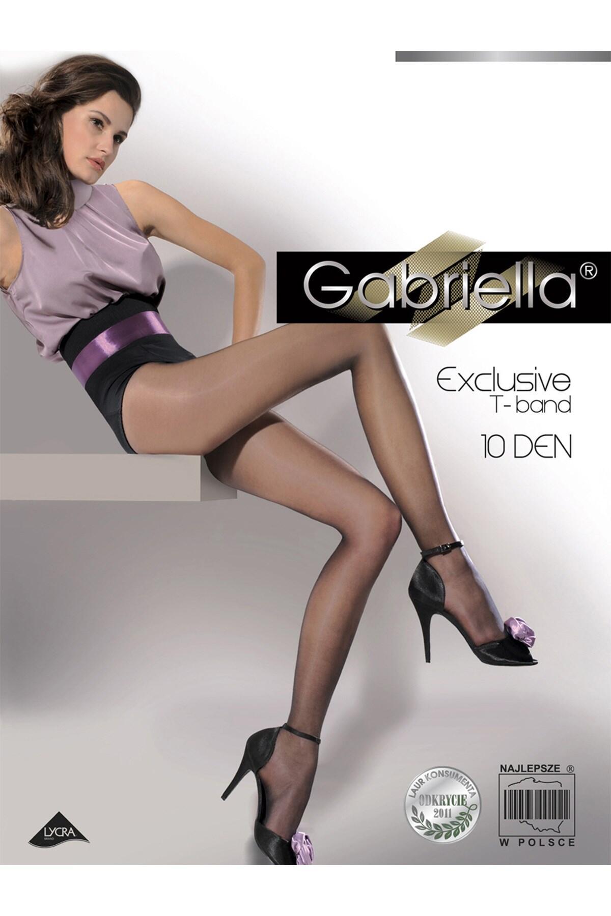 Gabriella Classic 10 Denier - Black