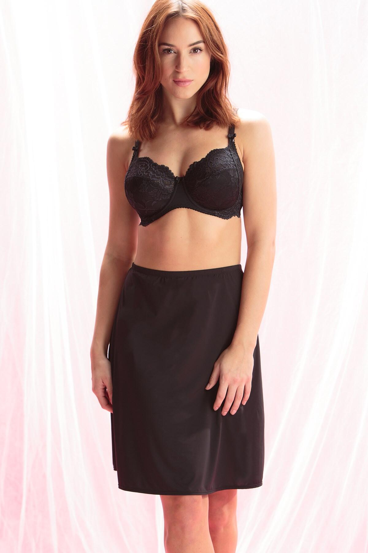 Body Comfort Half Slip - Black