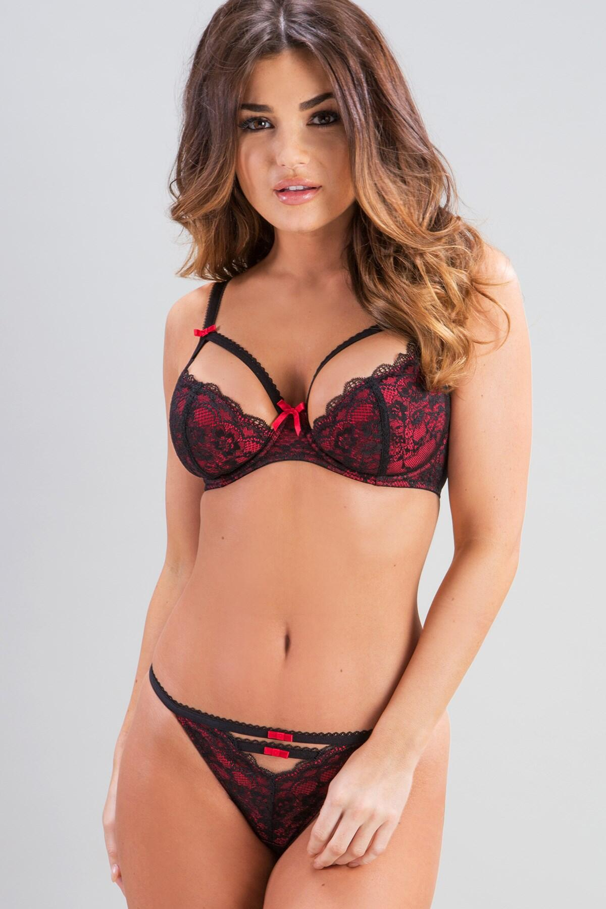 Instinct Brazilian Brief - Black/Red
