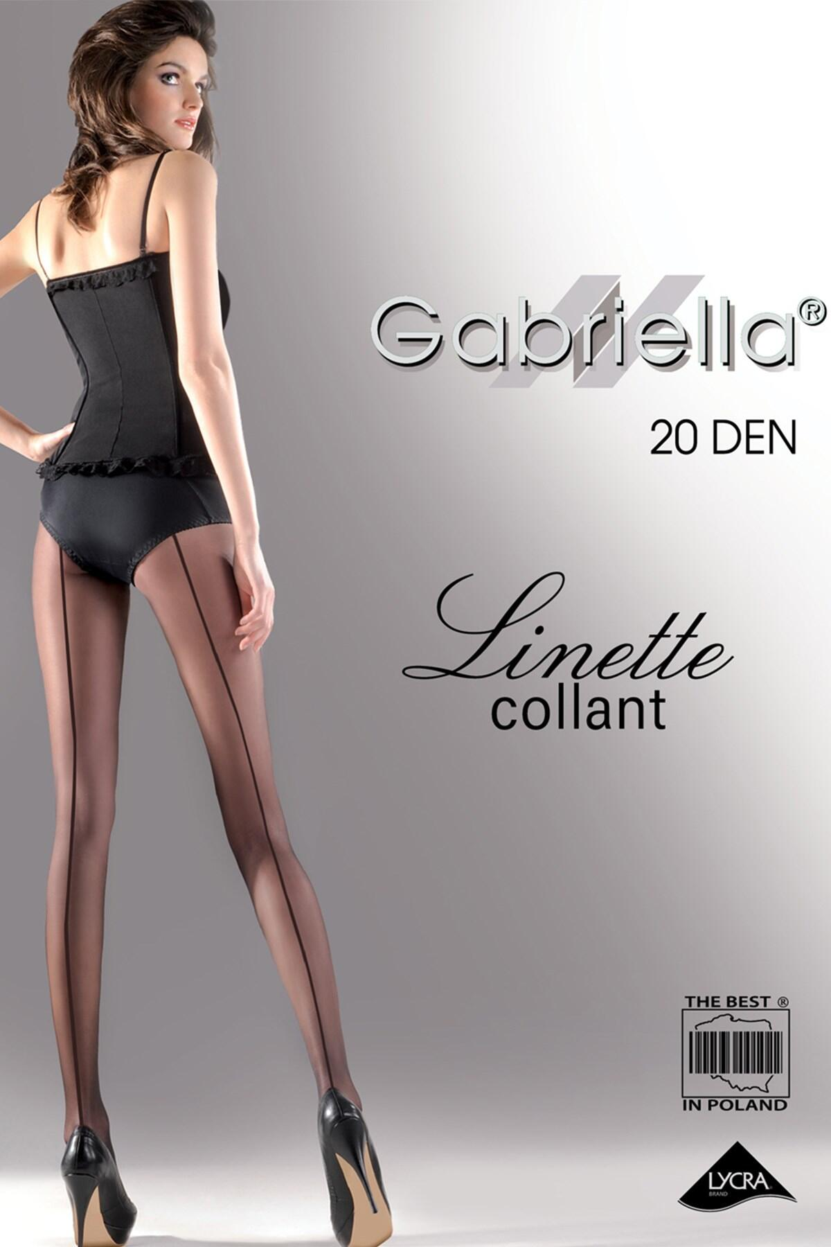 Gabriella Linette Back Seam  - Black