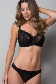St Tropez Thong - Black