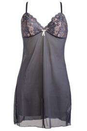 Amour Chemise - Graphite/Pink