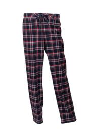 Moonstruck Check Trouser - Navy/Red Check