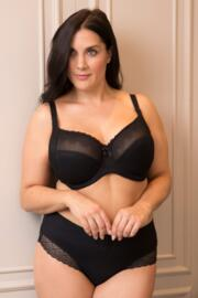 Electra Side Support Underwired Bra - Black