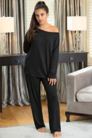 Sofa Love Long Sleeve Top - Black