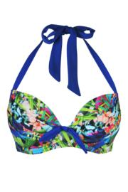 Costa Rica Padded Halter Underwired Top - Multi