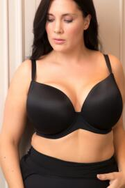 Definitions Plunge T-Shirt Bra - Black