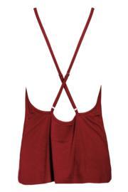 Sofa Love Camisole - Deep Red