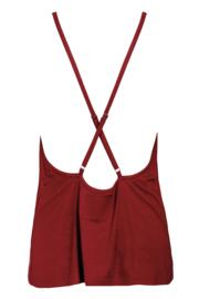 Sofa Love Camisole - Deep Red