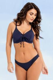 Barcelona Underwired Rope Top - Navy