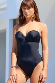 Jet Set Padded Underwired Suit - Black