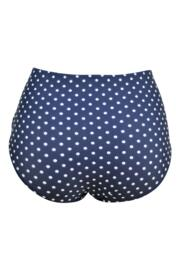 Hot Spots High Waisted Control Brief - Navy