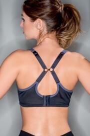 Energy UW Full Cup Sports Bra - Black/Slate