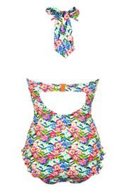 Wonderland Halter Control Swimsuit - Multi