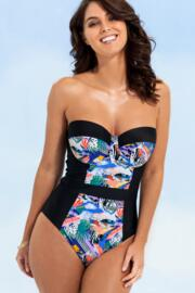 Halcyon Padded Underwired Swimsuit  - Multi