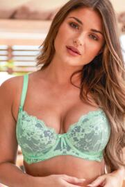 Amour Non Padded Bra - Mint/Silver