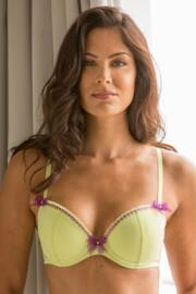 Pin Up Padded Bra - Lime