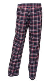 Moonstruck Check Pyjama - Navy/Red Check