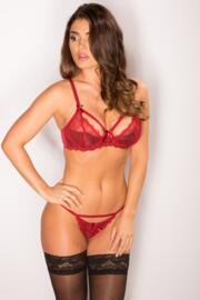 Obsession Tanga Brief - Ruby Red