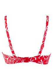 Fiesta Sweetheart Padded Top - Red/White
