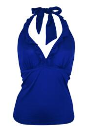 Getaway Hidden Underwired Tankini Top - Blue