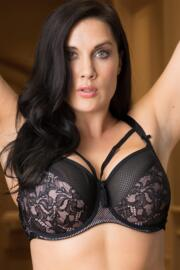 No Limits Underwired Bra - Black/Pink