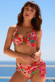 Heatwave Fold Over Tie Brief - Tropical