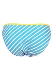 Starboard Stripe Brief - Turq/Lemon