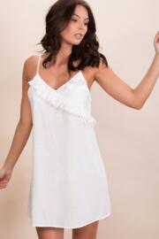 Siesta Secret Support Chemise - White