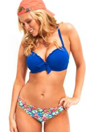 Pool Party Padded Underwired Top - Blue