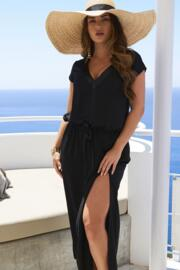 Jet Set Long Dress - Black
