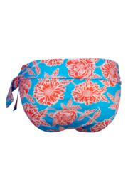 Big Sur Fold Over Brief  - Turquoise/Orange