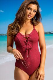 Barcelona Rope Swimsuit - Red
