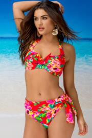 Heatwave Halter Underwired Top - Tropical