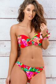 Heatwave Removable Straps Padded Top - Tropical