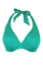 Pool Party Concealed Underwired Halter Top - Green