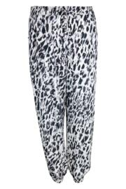 Idlewild Cuffed Trouser - White/Black