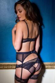 Suspense Open Back Brief - Black