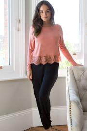 Sofa Love Secret Support Long Sleeve Top - Dusky Pink