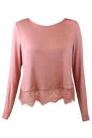 Sofa Love Secret Support Long Sleeve Top - Dusky Pink