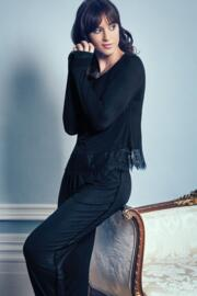 Sofa Love Secret Support Long Sleeve Top - Black