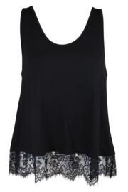 Sofa Love Secret Support Vest Top - Black