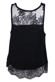 Sofa Love Secret Support Vest Top - Black