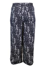 After Dark High Waist Wide Leg Trouser - Black/White