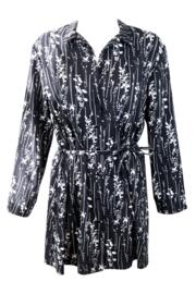 After Dark Nightshirt - Black/White