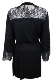 Sofa Loves Lace Wrap - Black