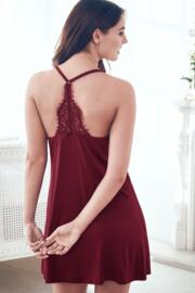 Sofa Loves Lace Chemise - Berry