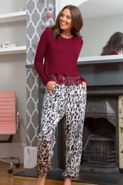Sofa Love Secret Support Long Sleeve Top - Berry