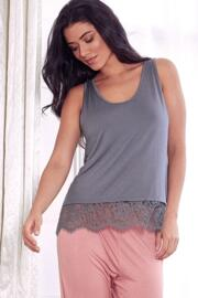 Sofa Love Secret Support Vest Top - Titanium