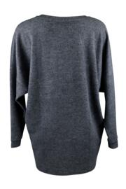 Sofa Love Supersoft Marl Oversized Top - Grey